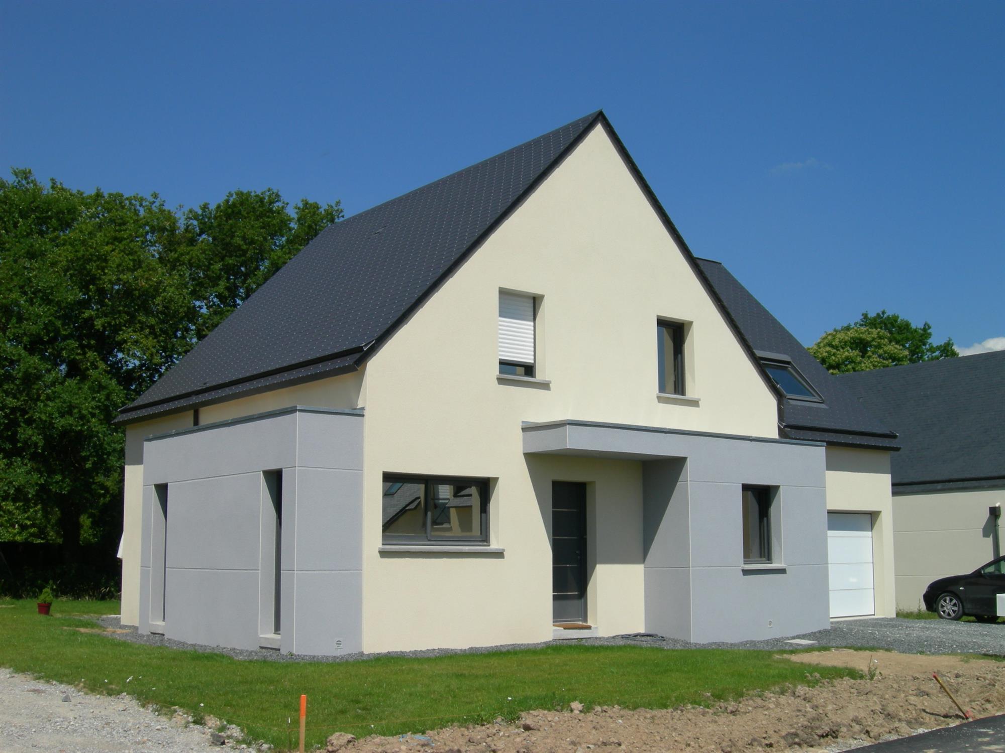 maison moderne ou traditionnelle