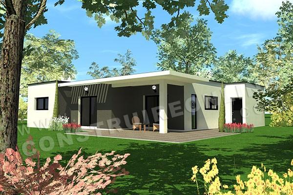 maison moderne pas cher. Black Bedroom Furniture Sets. Home Design Ideas