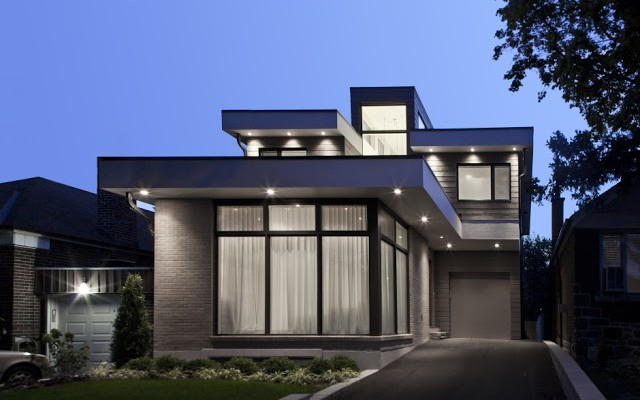maison moderne petite