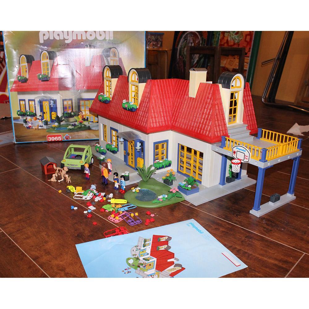 Maison moderne playmobil 3965 notice - Plan maison de campagne playmobil ...