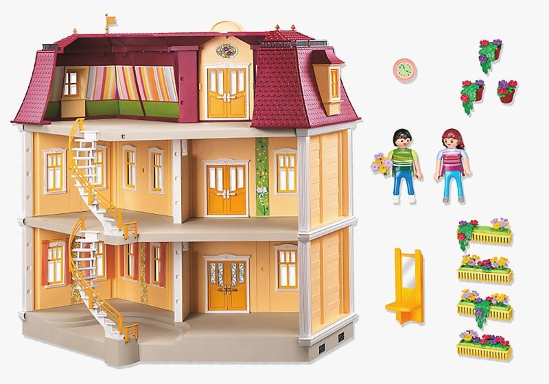 maison moderne playmobil 5302