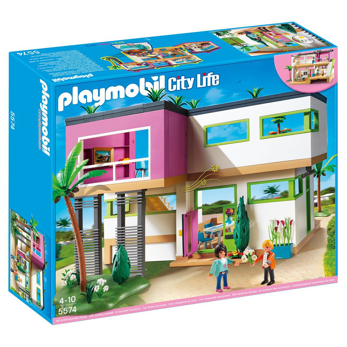 maison moderne playmobil 5574 dimensions