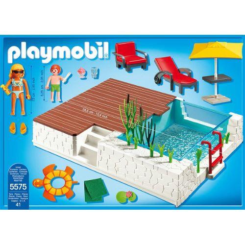 maison moderne playmobil 5575