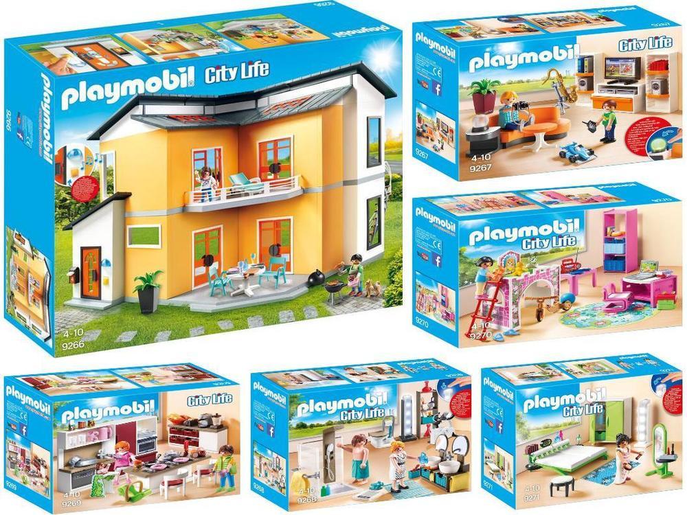 Maison Moderne Playmobil Pas Cher. playmobil 3965 grande ...