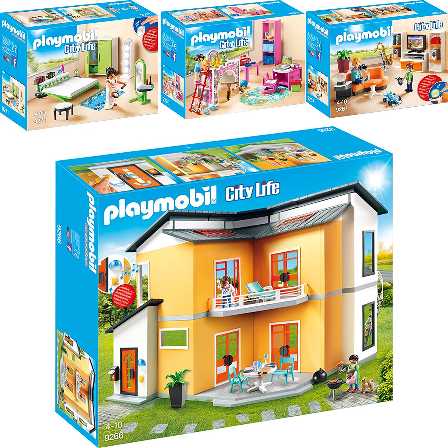 Extraordinary Maison Moderne City Life Playmobil Gallery - Best ...