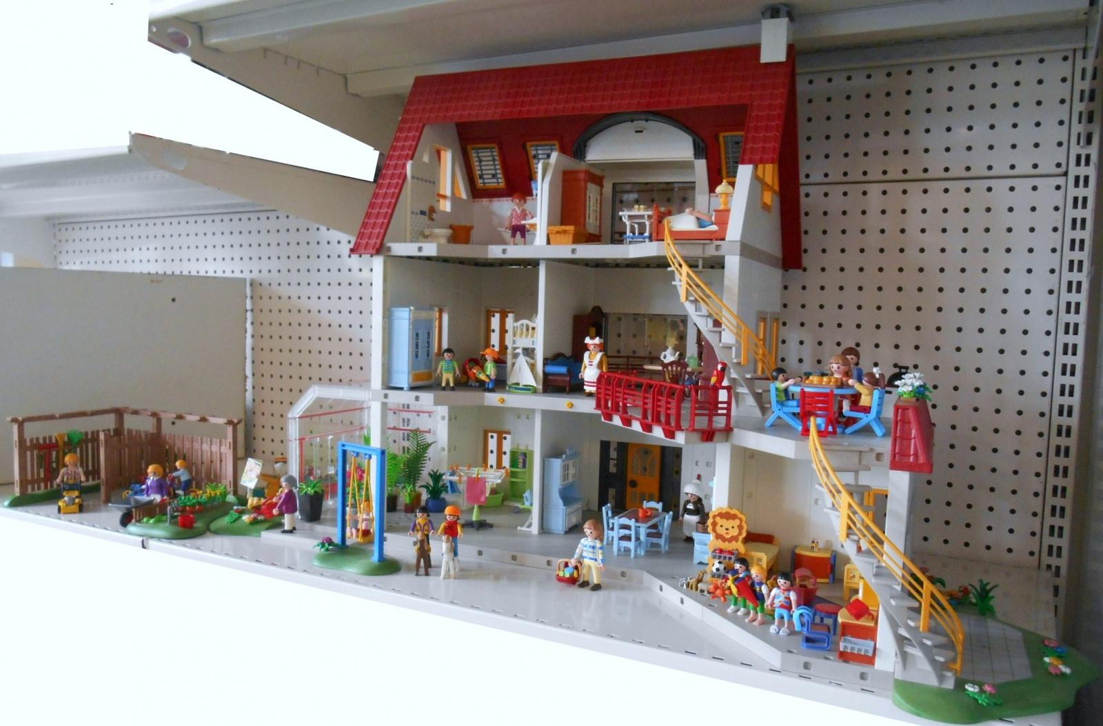 Photo Maison Moderne Playmobil Interieur