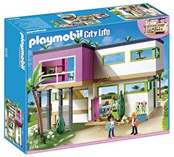 maison moderne playmobil leclerc