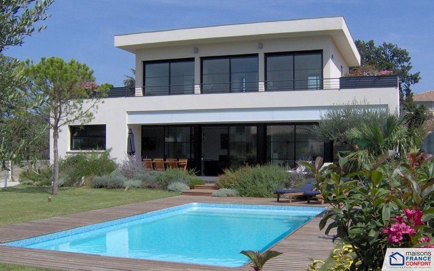 maison moderne provencale