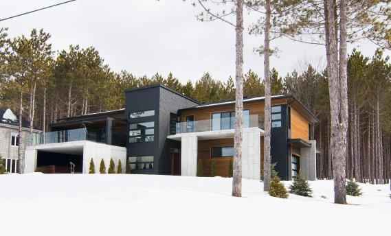 maison moderne quebec