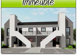 plan de maison moderne r+2