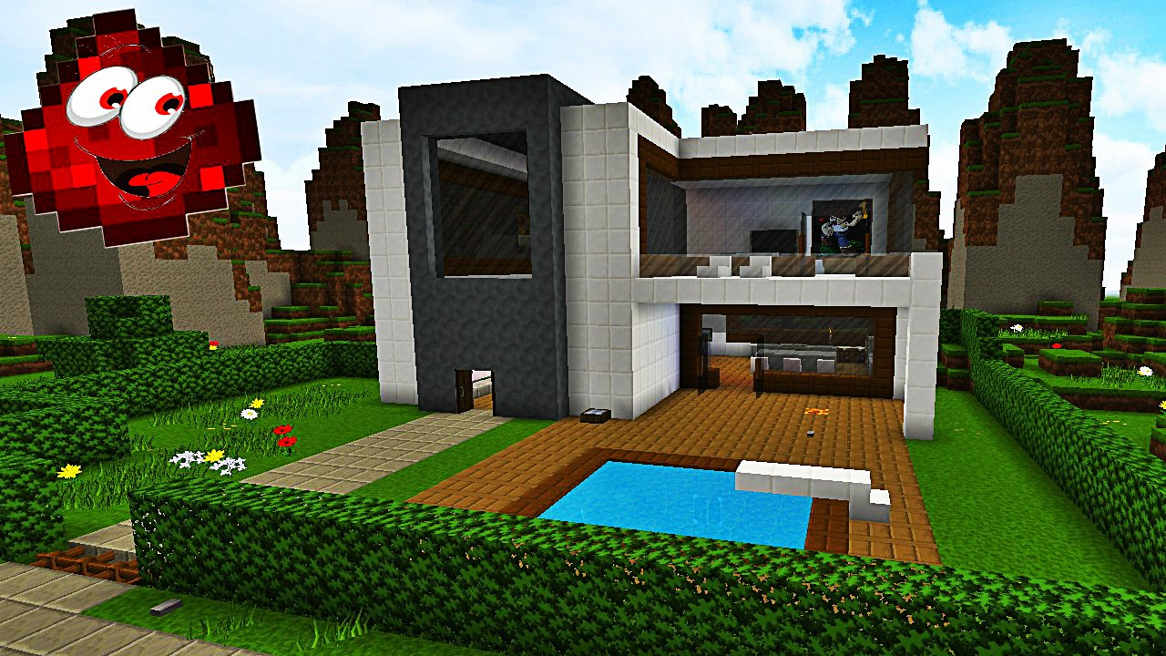 maison moderne redstone. Black Bedroom Furniture Sets. Home Design Ideas