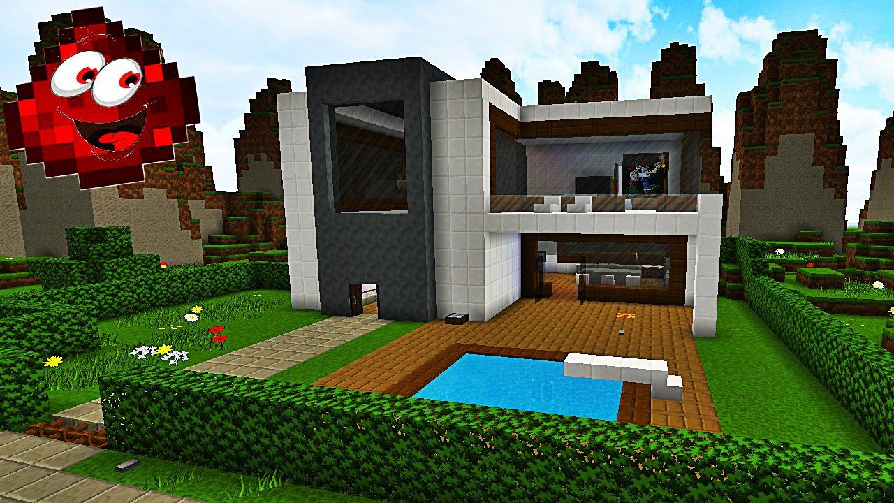 maison moderne redstone