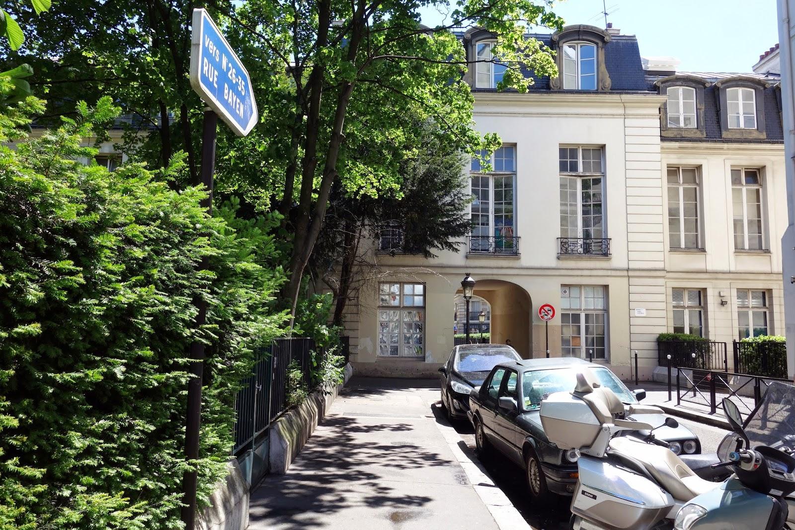 maison moderne rue pierre demours