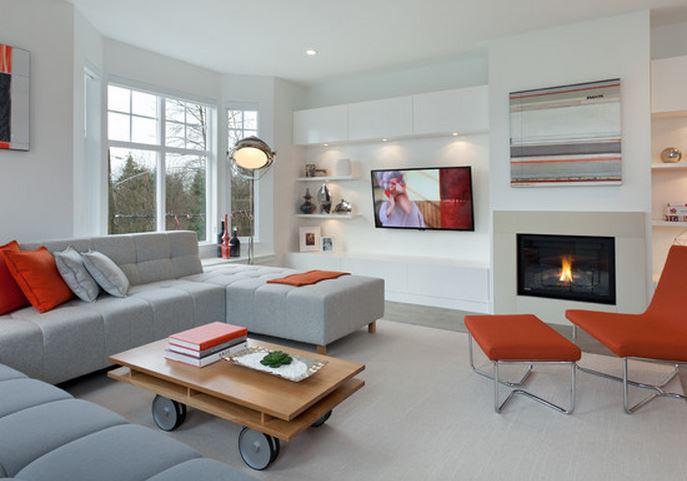 maison moderne salon