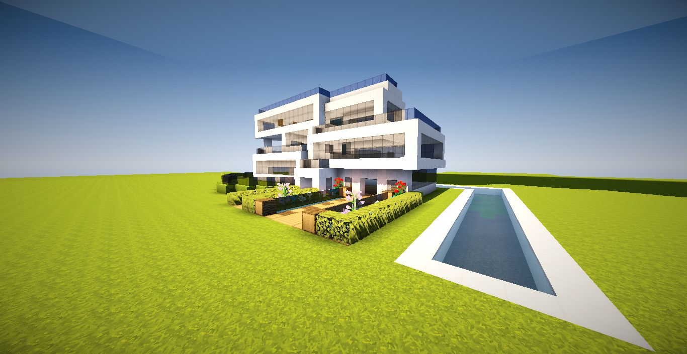 Maison Minecraft Moderne