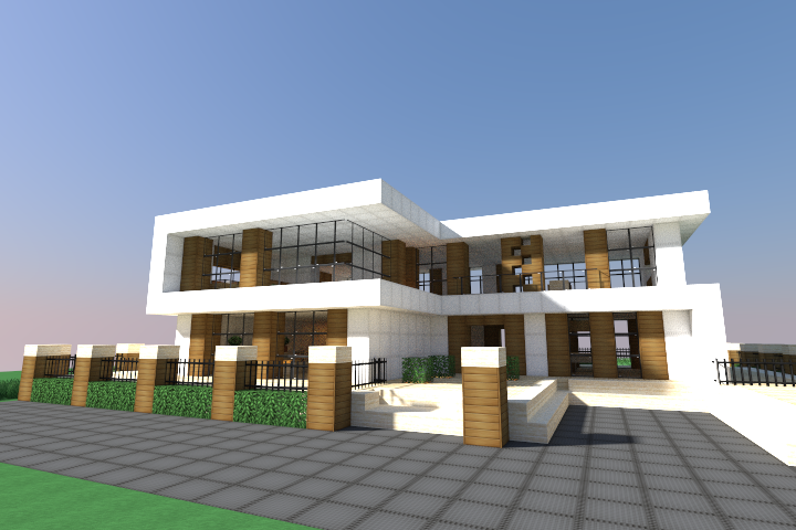 Schematic Minecraft Maison
