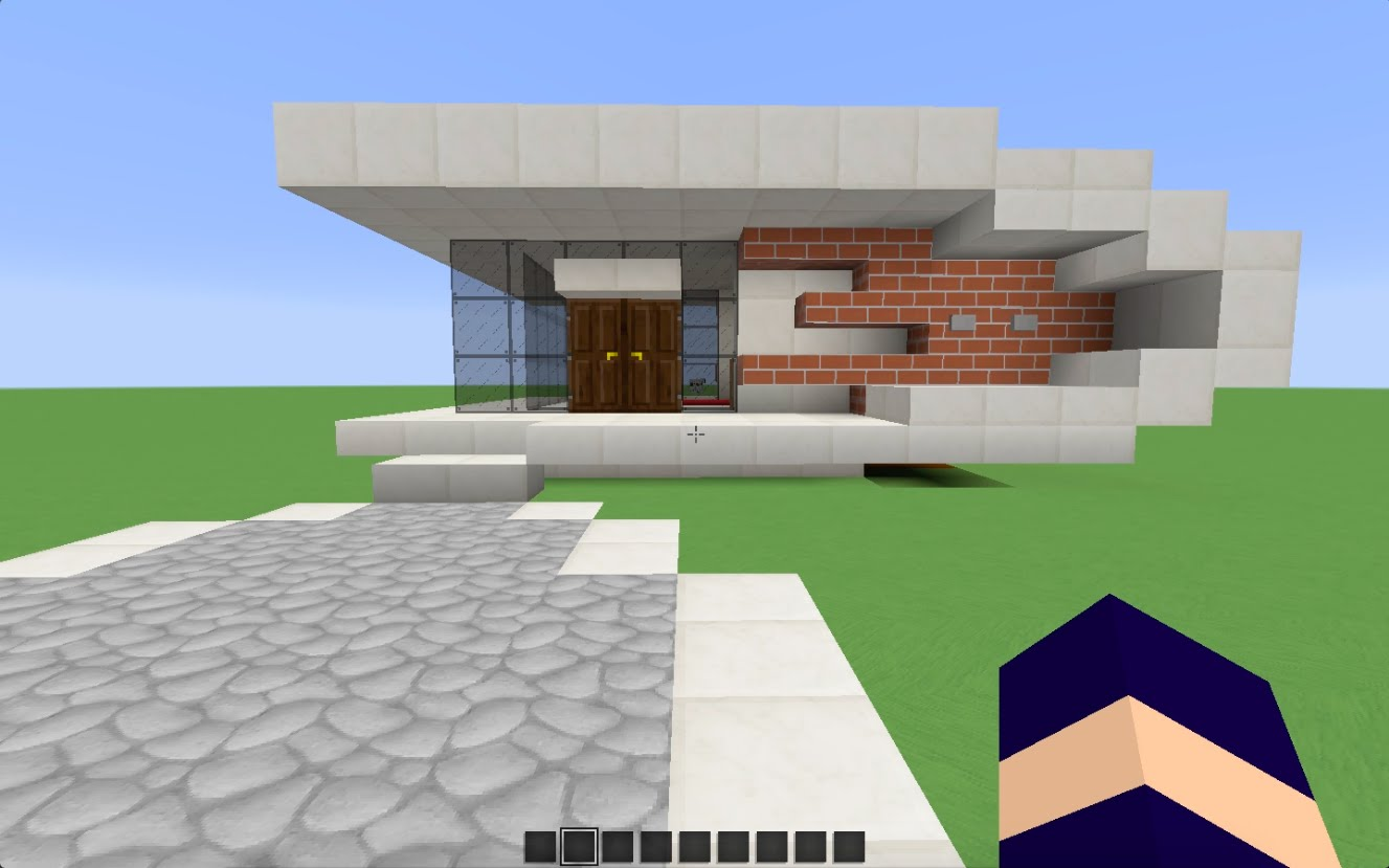 Awesome Maison Moderne Dansminecraft Contemporary - House Design ...