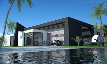 Maison Moderne Structure Metallique - Maison en charpente metallique