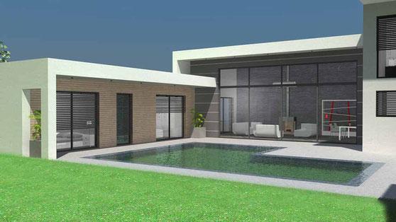 Maison Toit Plat Moderne maison moderne toit terrasse