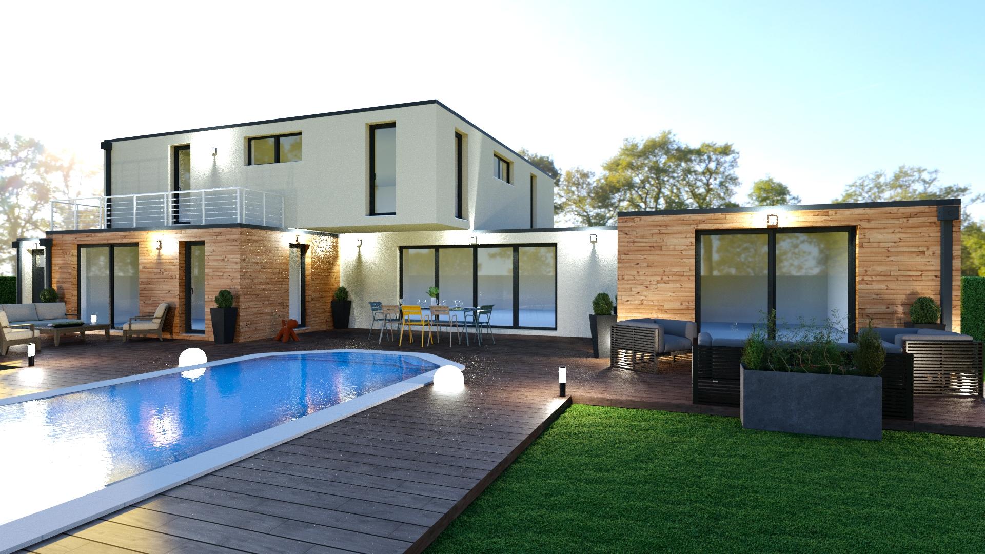 maison moderne tours