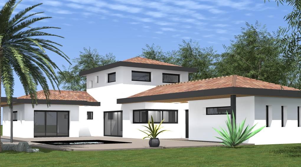 maison moderne un etage