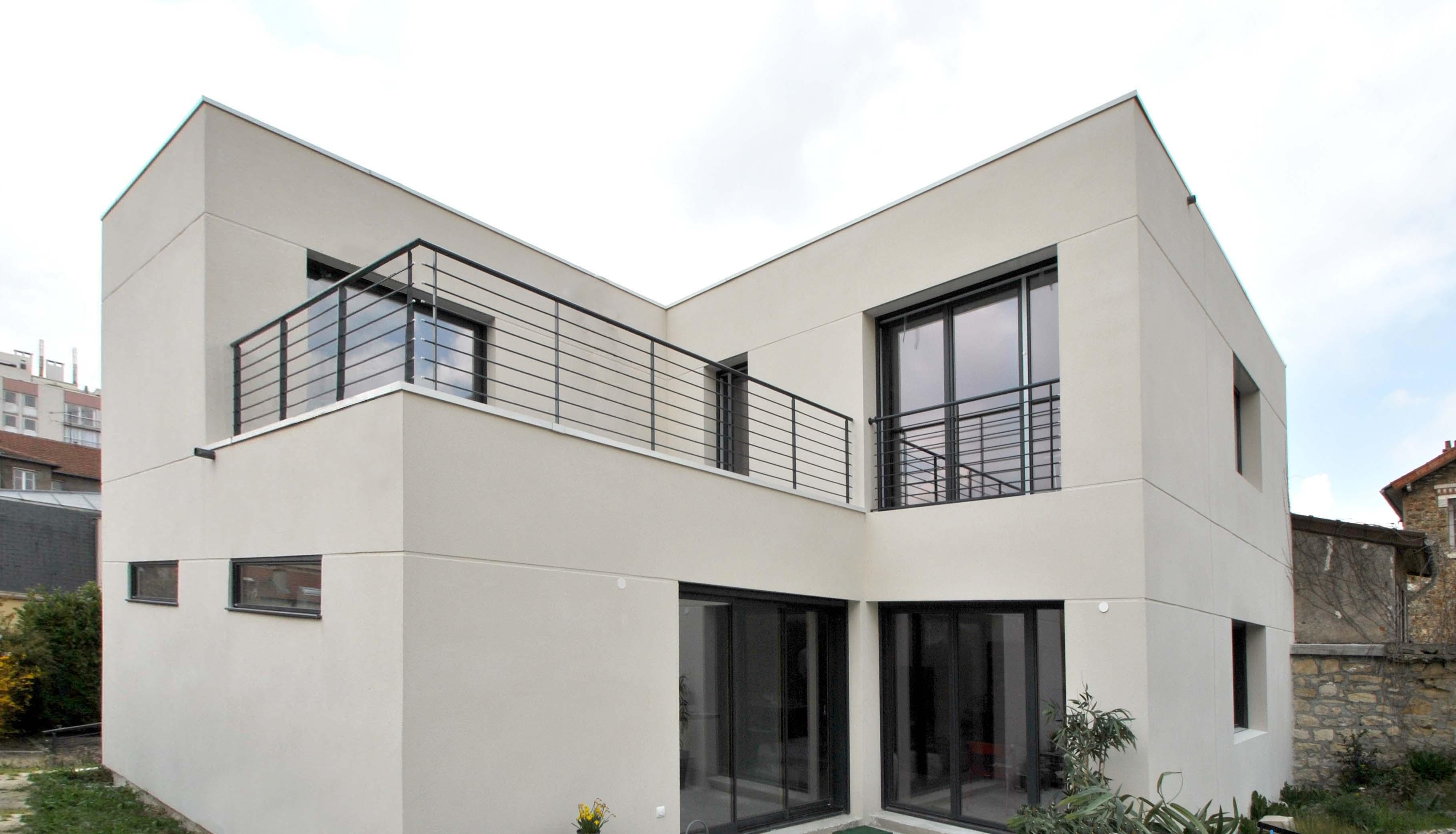 maison moderne val d 39 oise. Black Bedroom Furniture Sets. Home Design Ideas