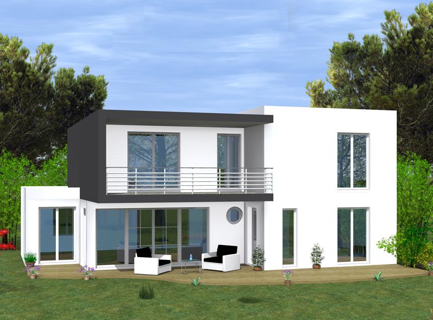 maison moderne val d'oise