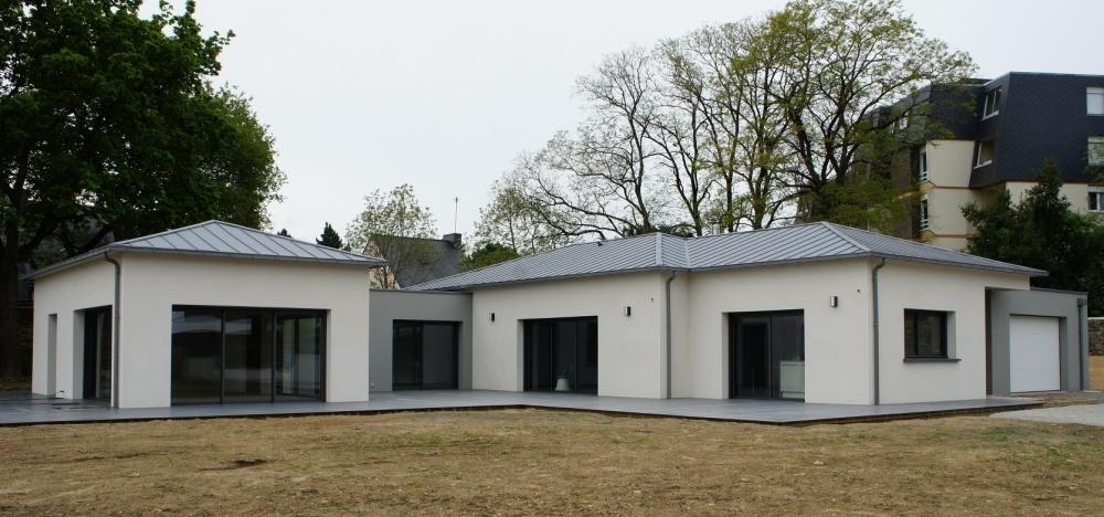 maison moderne vannes