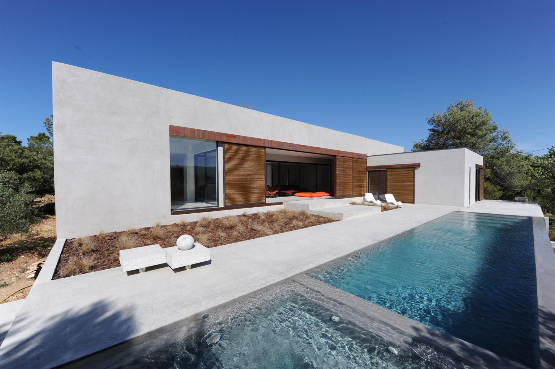 maison moderne vaucluse