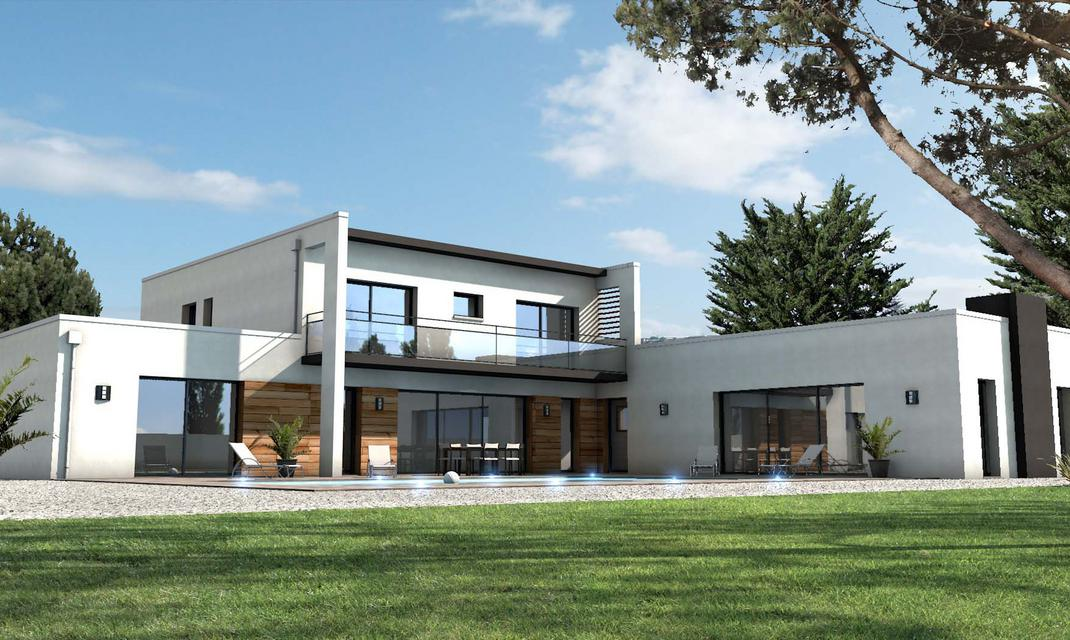maison moderne vendee