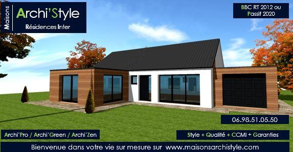 maison plain pied 100 000 euros. Black Bedroom Furniture Sets. Home Design Ideas