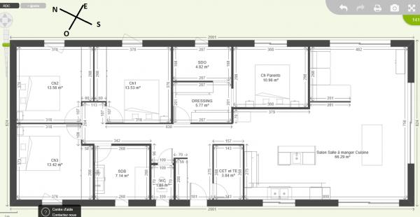 maison plain pied 140 m2