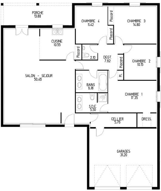 plan de maison et prix
