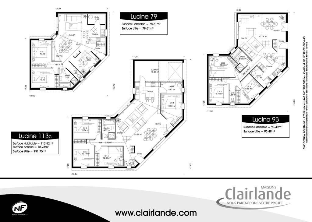 maison plain pied 160m2. Black Bedroom Furniture Sets. Home Design Ideas