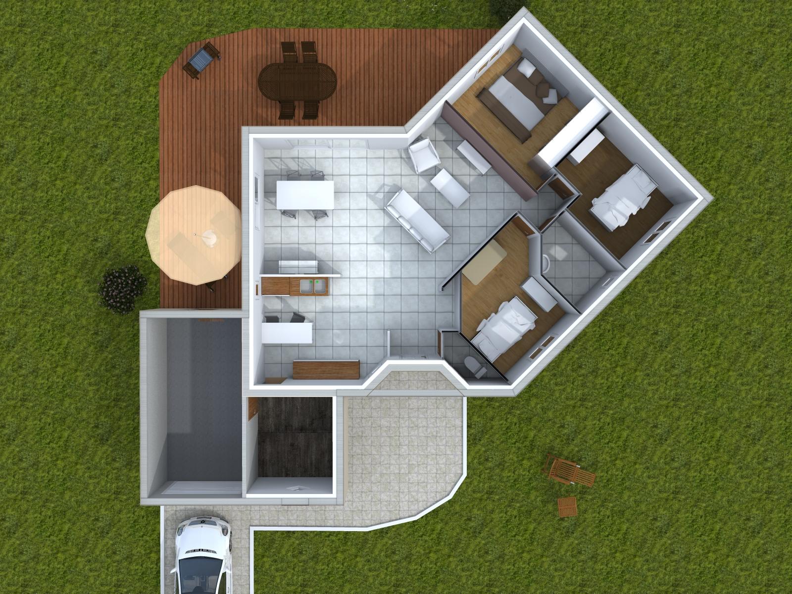 maison plain pied 2015