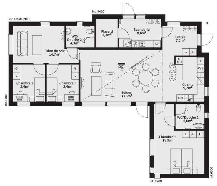 Plan Maison Plain Pied Passive - onestopcolorado.com -