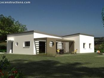 maison plain pied 29830. Black Bedroom Furniture Sets. Home Design Ideas