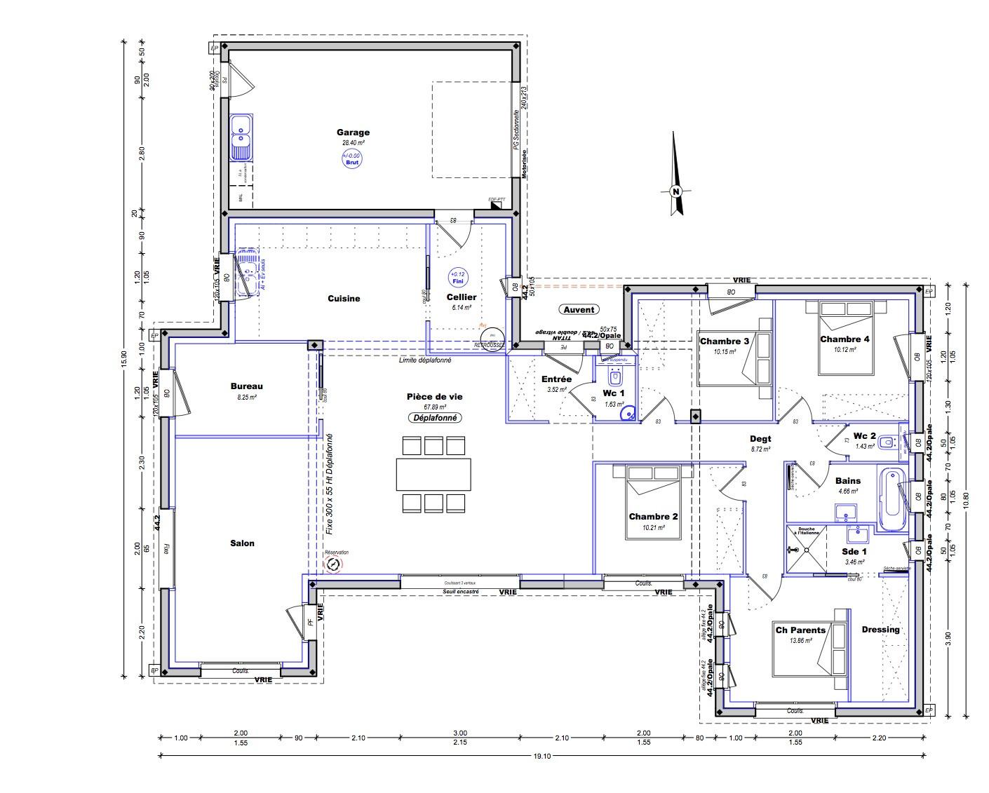 maison plain pied 29