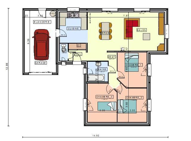 maison plain pied 31