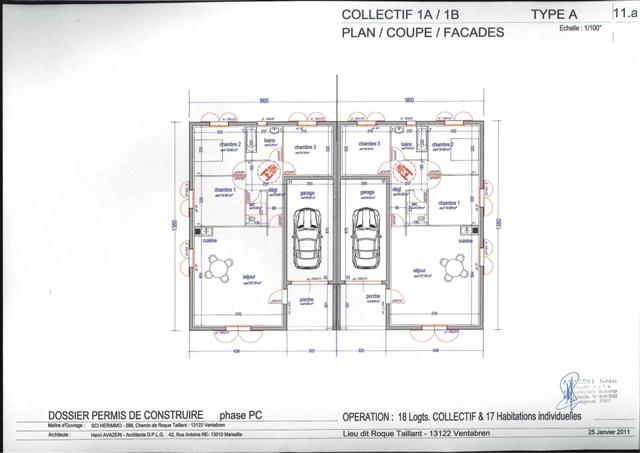 plan de maison locative