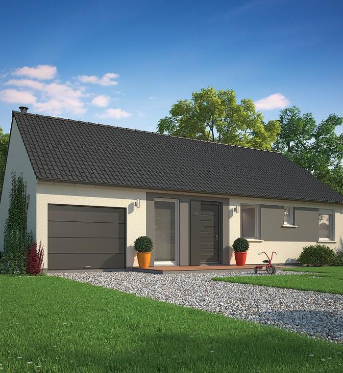 Maison plain pied 59350 for Garage saint eloy lille