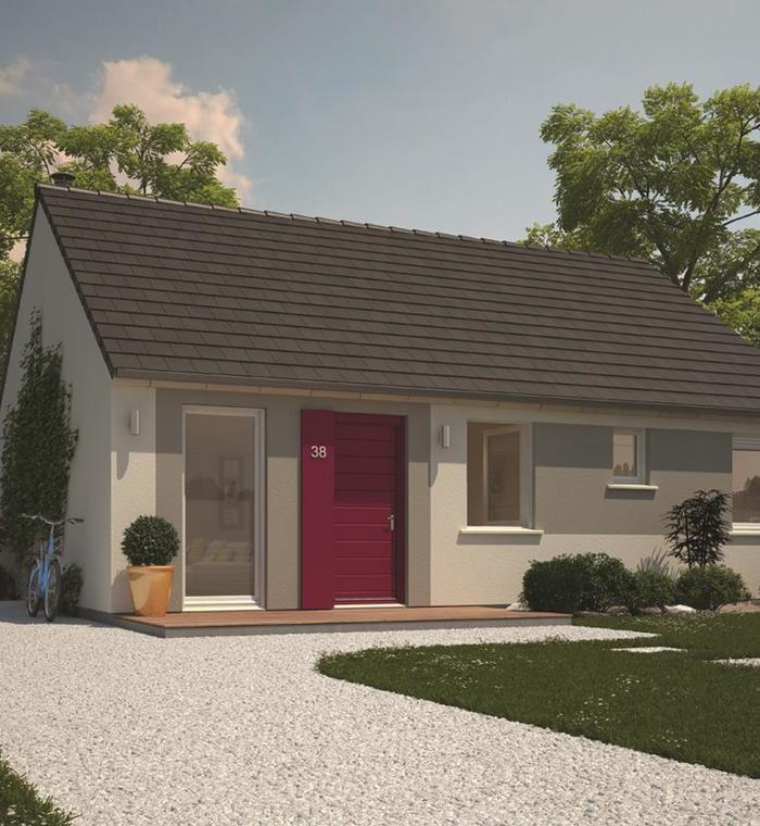 maison plain pied 59350. Black Bedroom Furniture Sets. Home Design Ideas