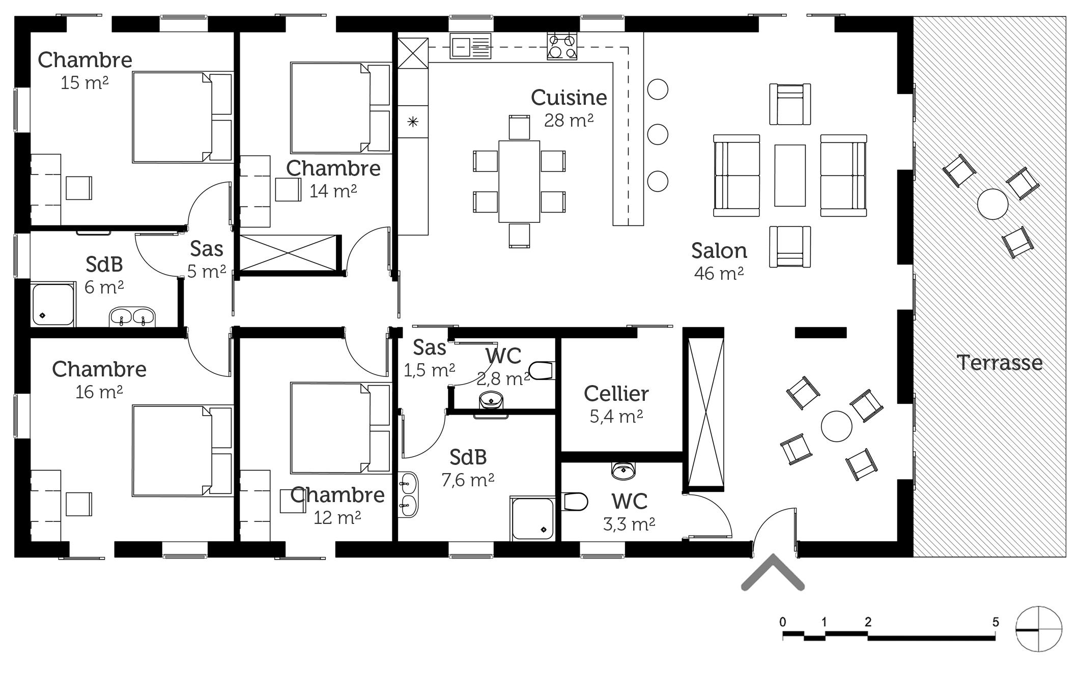 Gentil Constructeur Et Plan De Maison