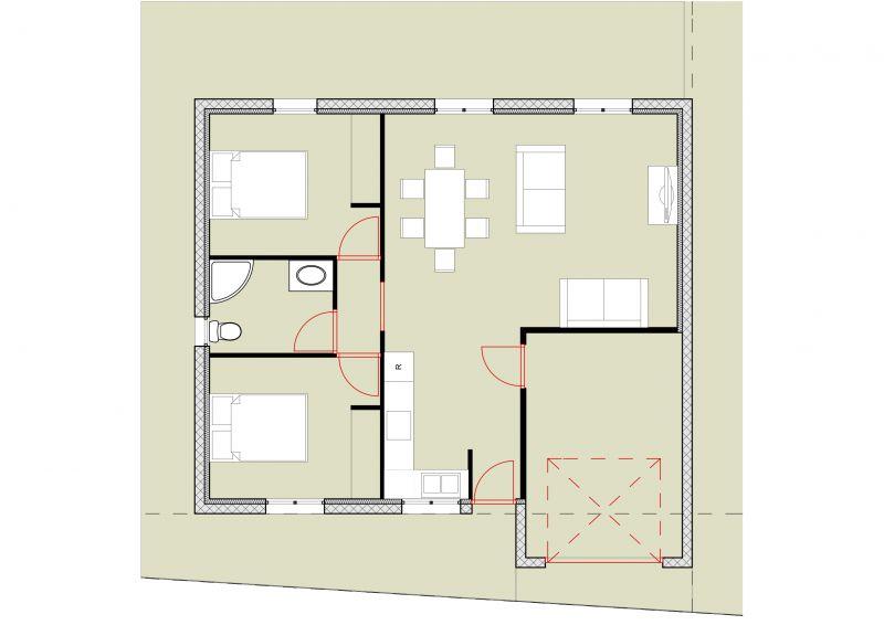 maison plain pied 60m2