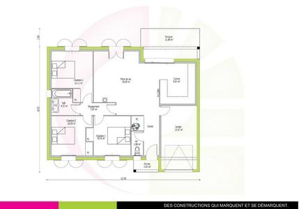 maison plain pied 82. Black Bedroom Furniture Sets. Home Design Ideas