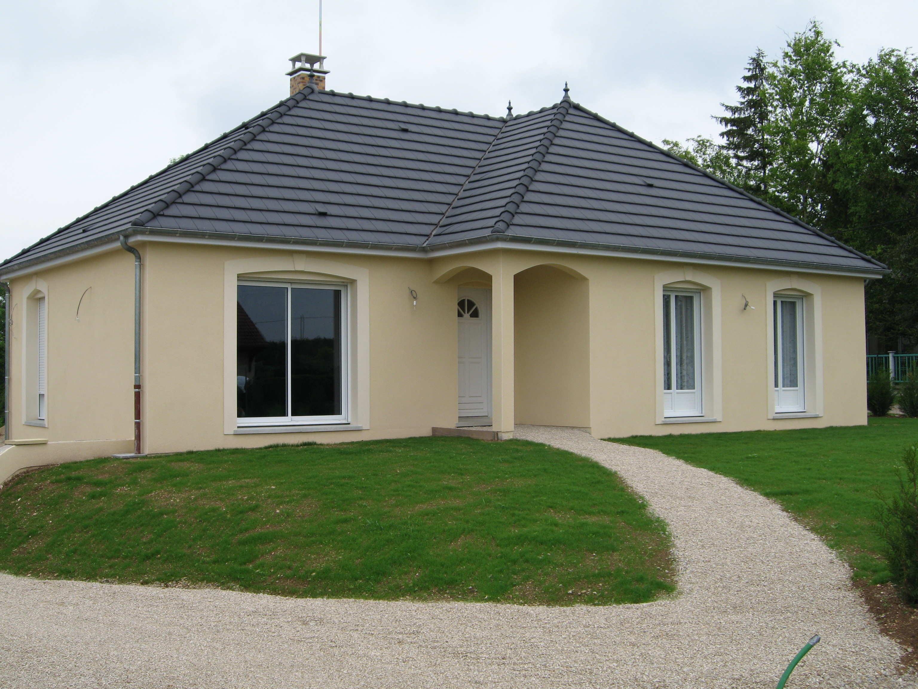 maison plain pied 974