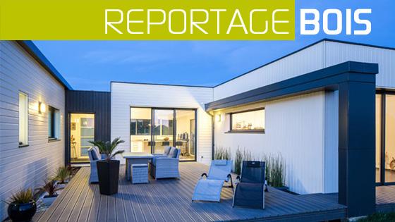 maison plain pied toit plat avec patio
