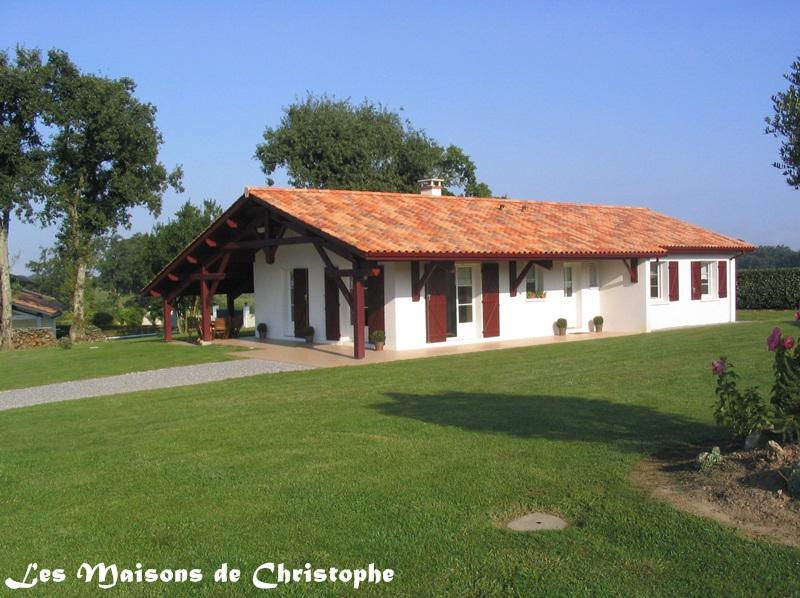maison plain pied basque
