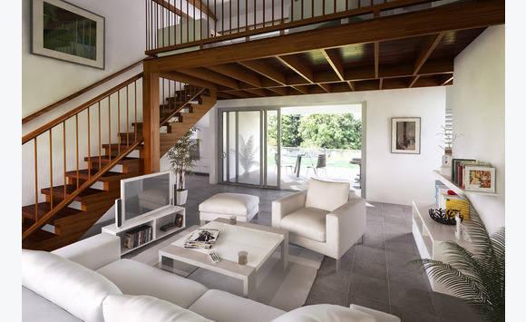 maison plain pied et mezzanine