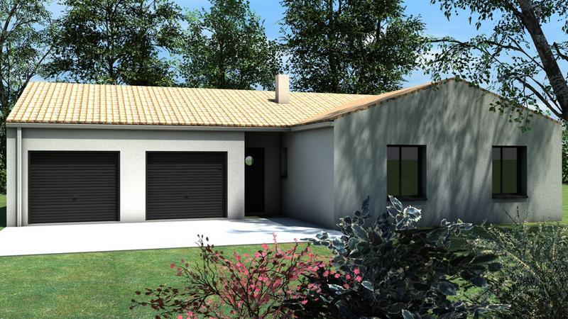 maison plain pied garage